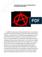 Anarchy (in the UK and elsewhere)