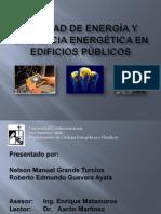 Calidad de Energa y Eficiencia en Ergtica en Edificios