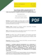 La Directiva 2011 83 Ue, Sobre Los Derechos de Los