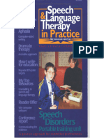 Speech & Language Therapy in Practice, Winter 1998