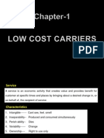 Intro to Low cost carriers.