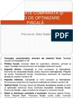 TEMA 1 - Sistemul Fiscal
