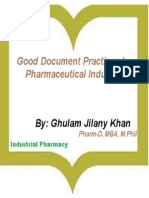 Industrial Pharmacy-GDP-Ghulam Jilany Khan
