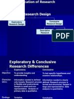 Classification Research Design