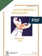 Derechos Humanos y Educación. Bibliografía 2008