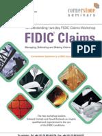 Cornerstone Seminars Fidic Claims