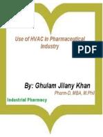 Industrial Pharmacy-HVAC-Ghulam Jilany Khan