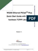 Quick Start Guide With HW TCPIP Library v1.1