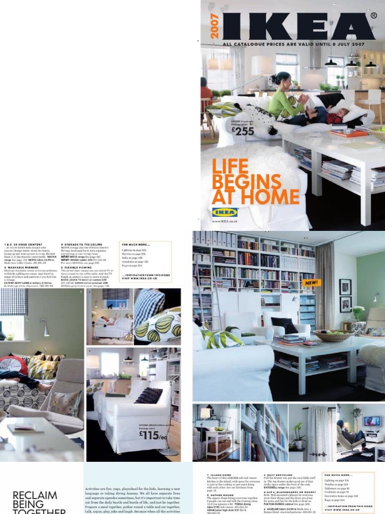 Ikea 2007 Catalogue Kitchen Cabinetry