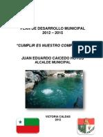 PDM 2012 - 2015 - Victoria, Caldas