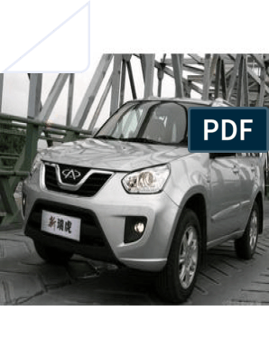 Owner's Manual for Chery Tiggo fl | Anti Lock Braking System
