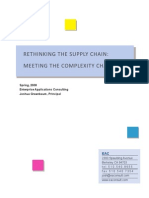 Rethinking the Supply Chain Final