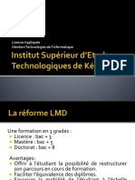 Mention Technologies de l'Informatique