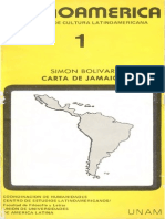 Carta de Jamaica. Cuadernos de Cultura Latinoamericana