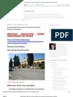 Proceso Educativo Como Mecanismo de Poder Revista Contralinea