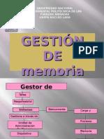 GESTOR DE MEMORIA
