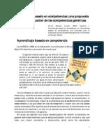 Aprendizaje Basado en Competencias. Una Propuesta Para La Evaluacion de Las Competencias Genericas