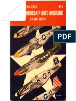 Osprey Aircam Aviation Series 05 - North American P-51B C Mustang in USAAF Service