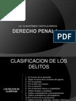 13. Clase Clasificacion de Los Delitos