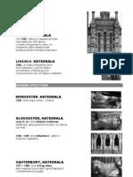 Gotika Kiparstvo - Engleska i Španjolska