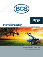 Motocultores Powersafe Bcs Catalogo