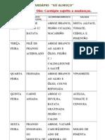 CARDAPIO SEMANAL.doc