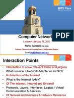 CSC461-CN-Lecture-4-Jan-18-2013