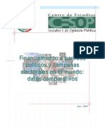 Financiamiento Electoral