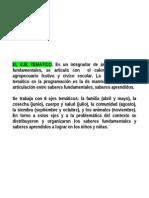2. EL EJE TEMÁTICO
