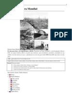 A Primeira Guerra Mundial