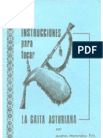 Instrucciones Para Tocar La Gaita Asturiana