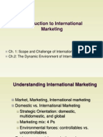 Supplement - Ch. 1-2 (Intro Intl Mktg)