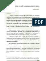 ASSISTÊNCIA SOCIAL DE AÇÃO INDIVIDUAL A DIREITO SOCIAL Aldaiza_Sposati