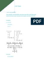 Equação do 1