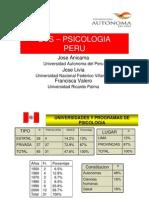 Psicologia en Peru