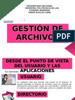 GESTION DE ARCHIVOS