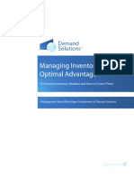 Managing Inventory for Optimal Advantage