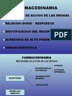 Clase Farmacodinamia