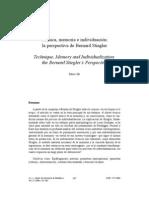 Técnica, memorio e individuación, la perspectiva de Bernard Stiegler