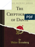 Walter Arensberg - The Cryptography of Dante