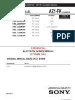 Manual de Servicio Sony KDL-32BX300 Chasis AZ1-FK[1]