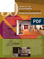 30 years of the California African American Museum Experience
