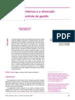 Os processos internos e a dimensão financeira do controle de gestão