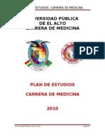 Plan de Estudios 2010