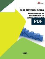 Guia Metodologica Monitoreo Consulta Externa HIS