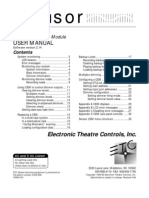 Sensor CEM 214 User Manual