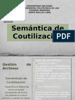 SEMANTICA DE COUTILIZACION