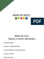 Apresentação mapa de risco