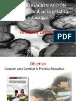 Investigación Acción . Miguel Angel Valdivia Pinto  Dr.