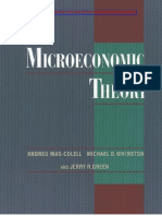 MAS-COLELL, Microeconomic Theory